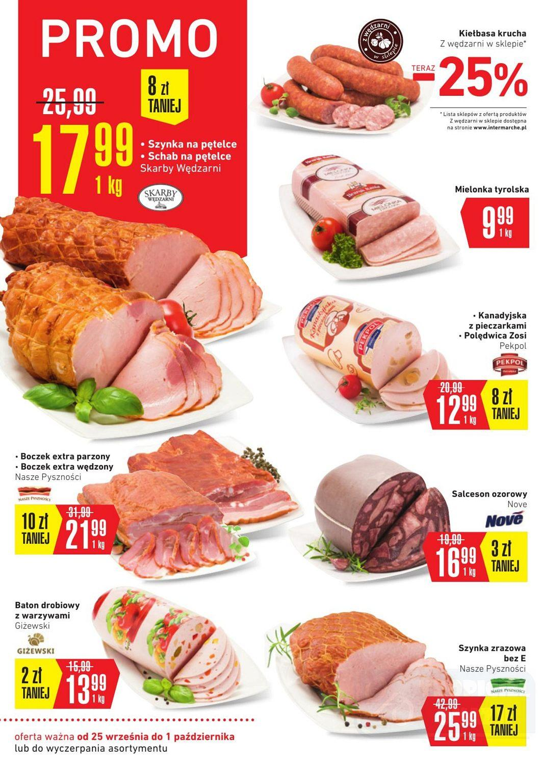 Gazetka promocyjna Intermarche do 01/10/2018 str.8