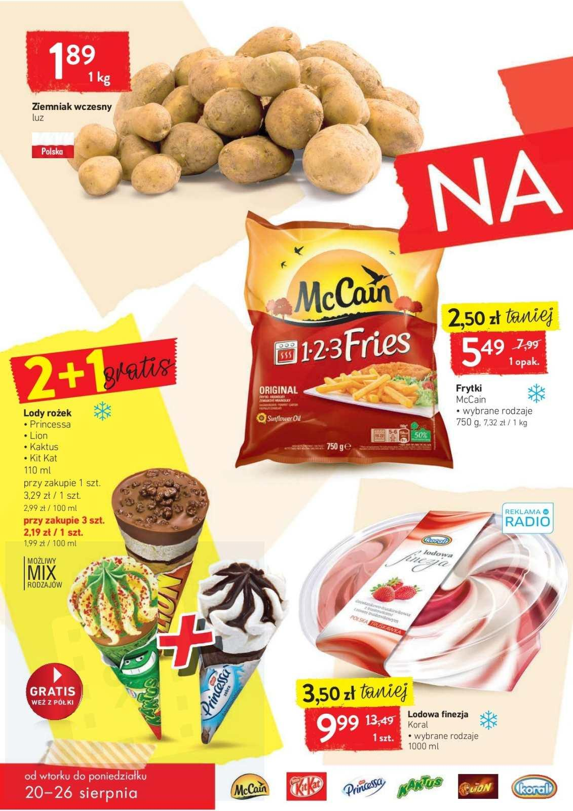 Gazetka promocyjna Intermarche do 26/08/2019 str.1