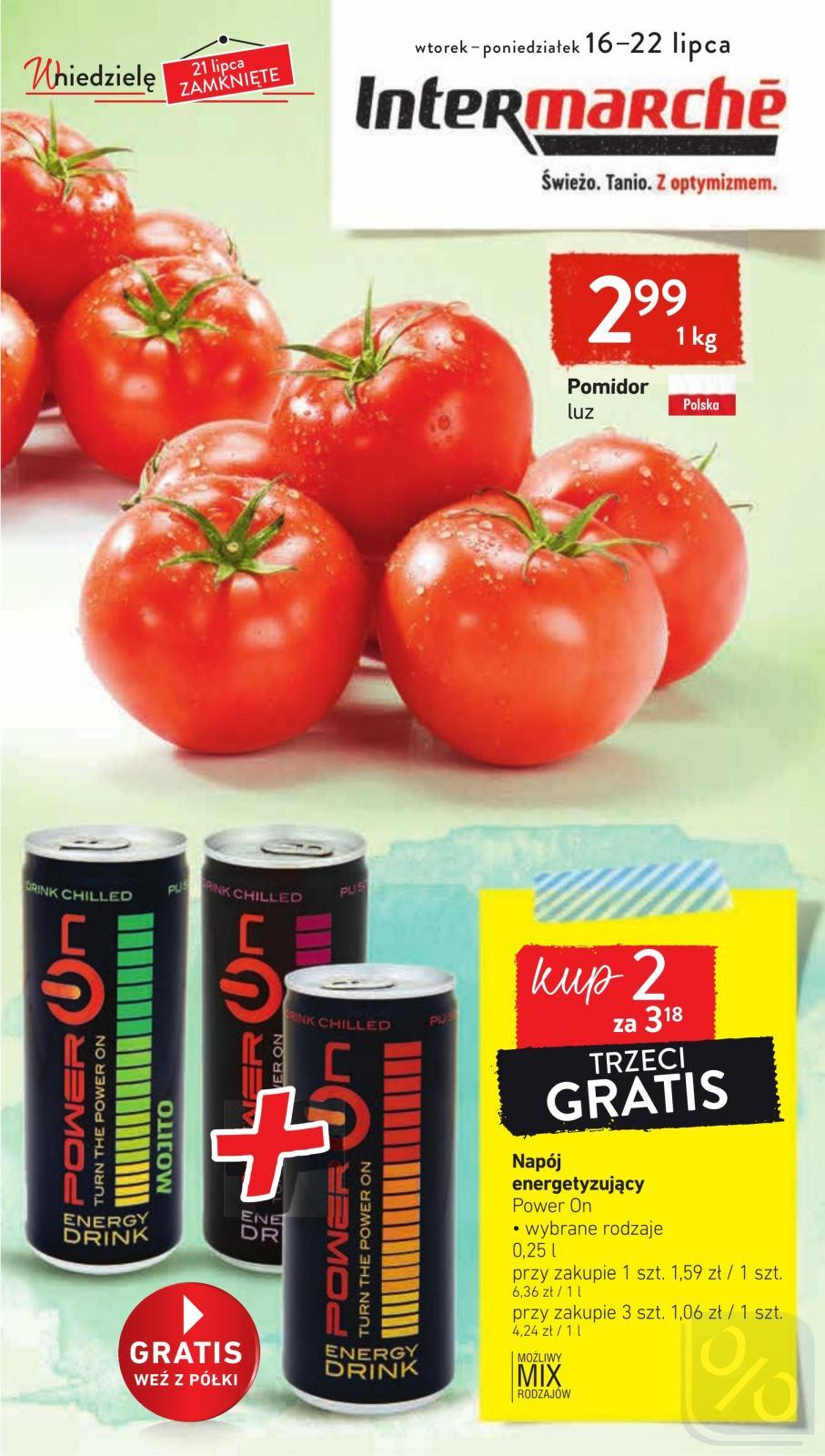 Gazetka promocyjna Intermarche do 22/07/2019 str.1