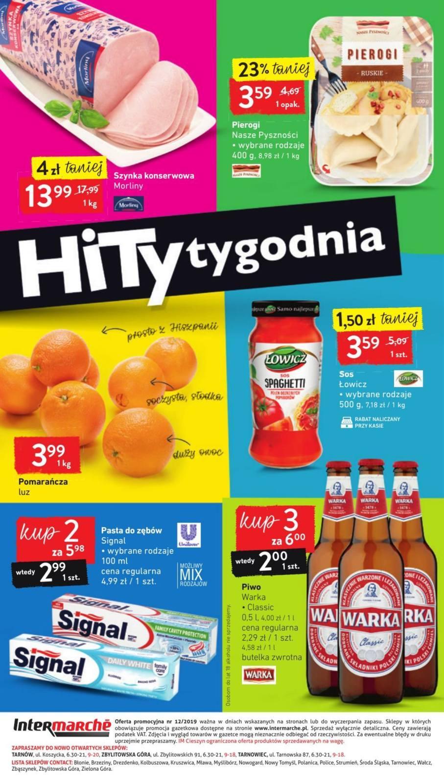 Gazetka promocyjna Intermarche do 25/03/2019 str.23
