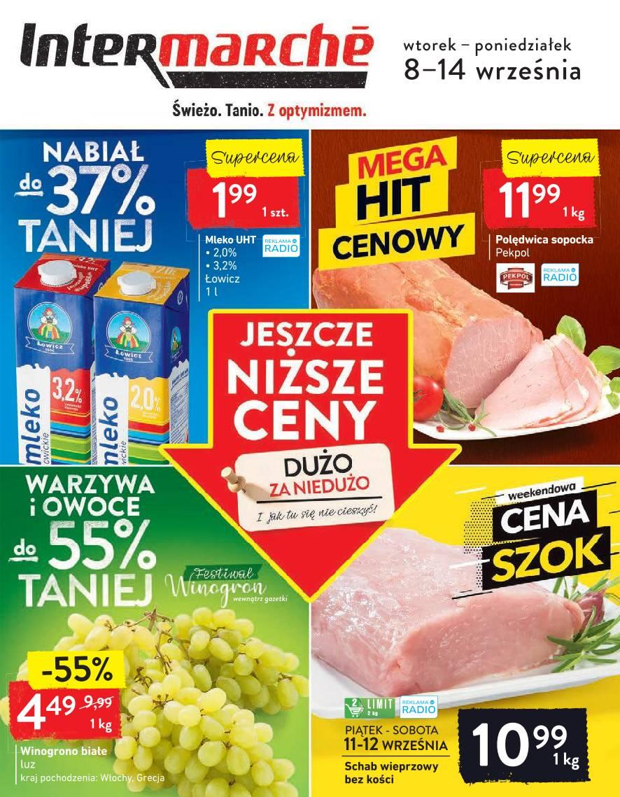 Gazetka promocyjna Intermarche do 14/09/2020 str.1