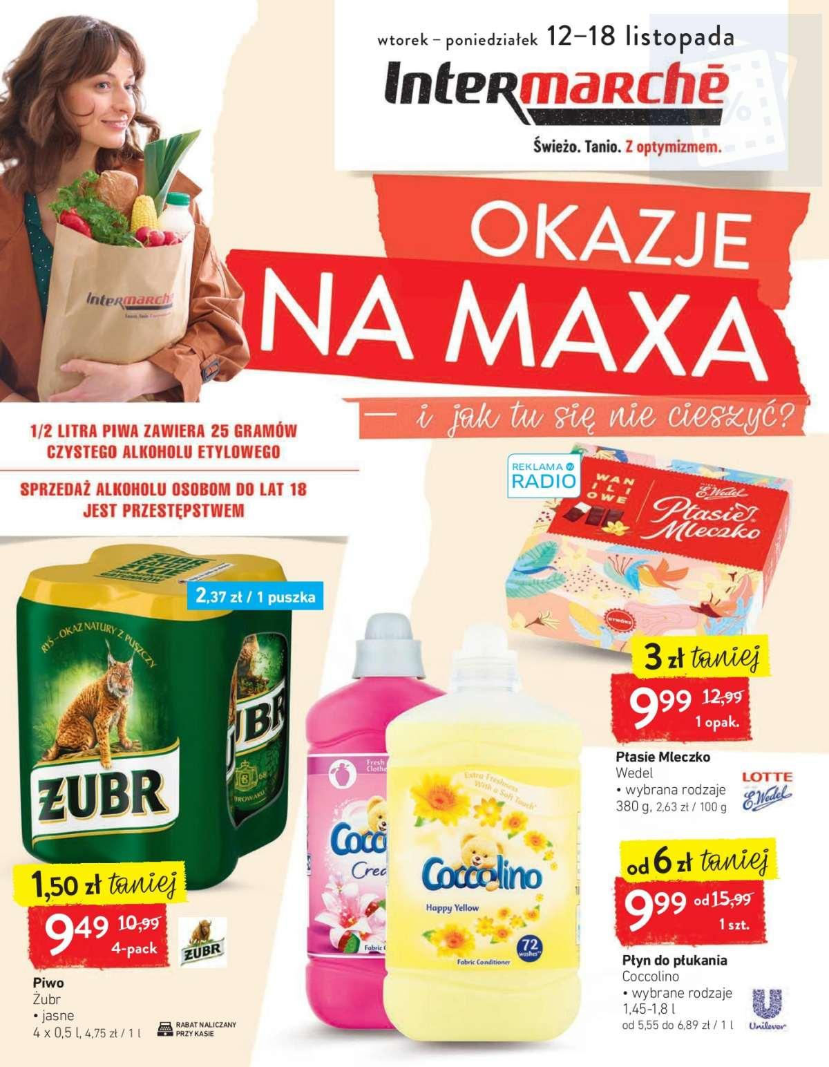Gazetka promocyjna Intermarche do 18/11/2019 str.0