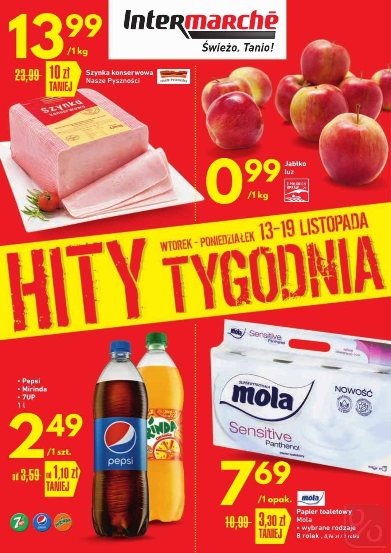 Gazetka promocyjna Intermarche do 19/11/2018 str.1