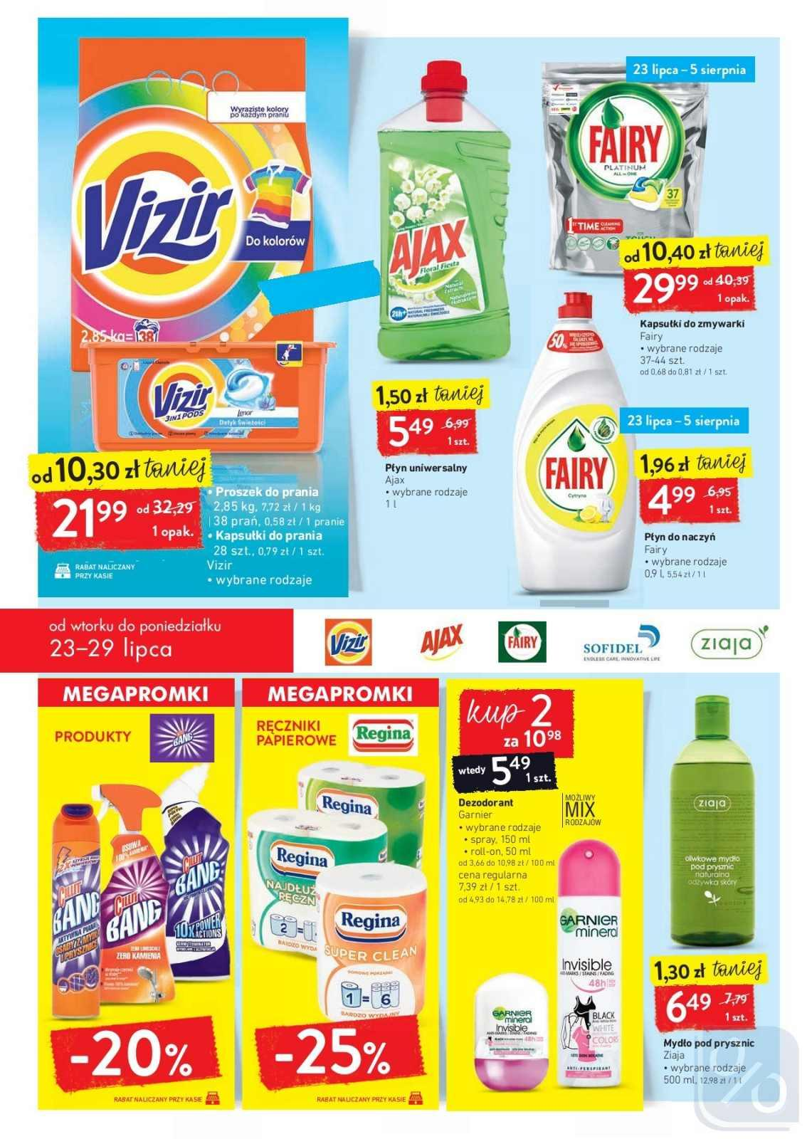 Gazetka promocyjna Intermarche do 29/07/2019 str.23