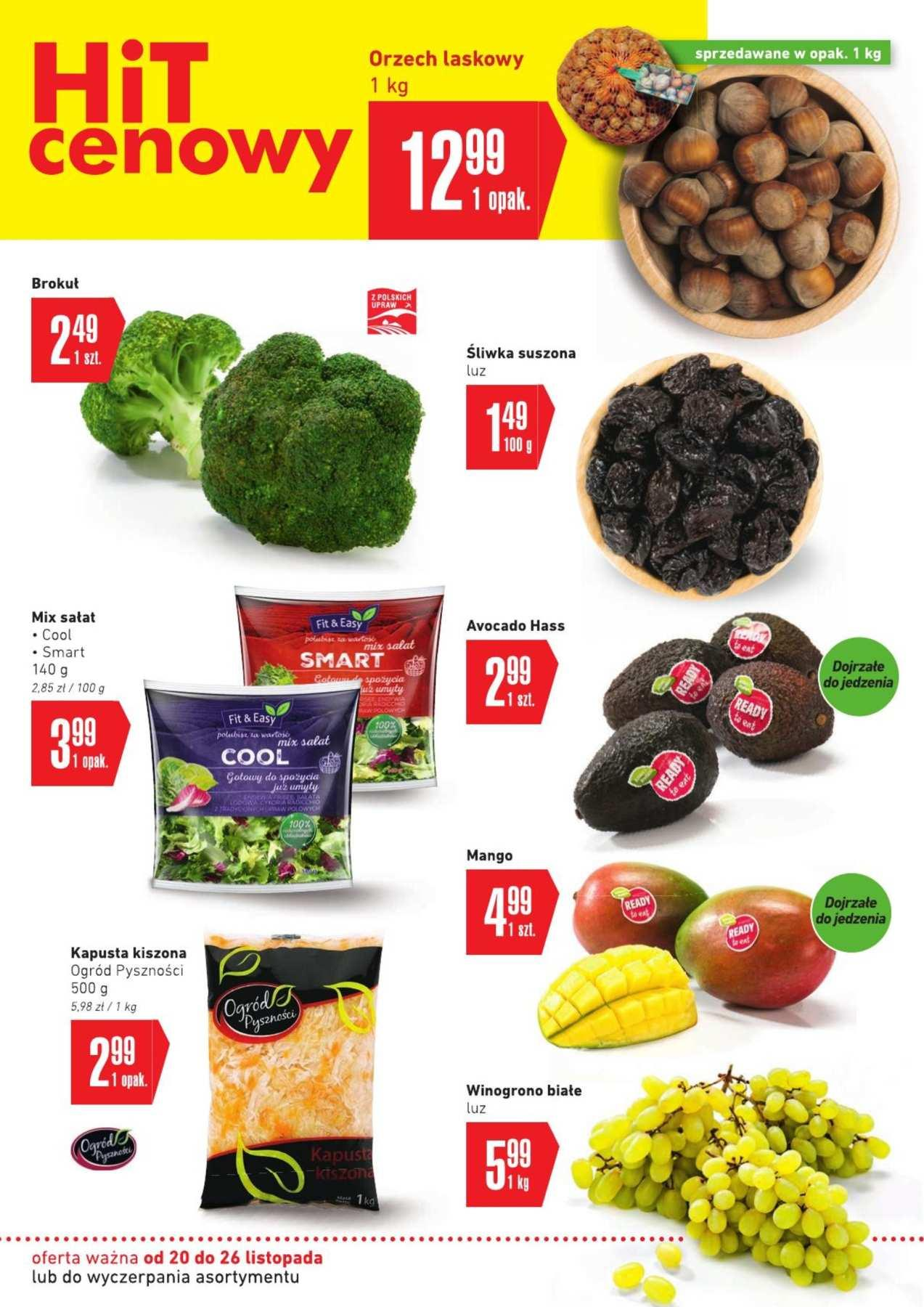 Gazetka promocyjna Intermarche do 26/11/2018 str.1