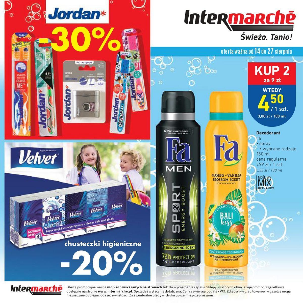 Gazetka promocyjna Intermarche do 03/09/2018 str.16
