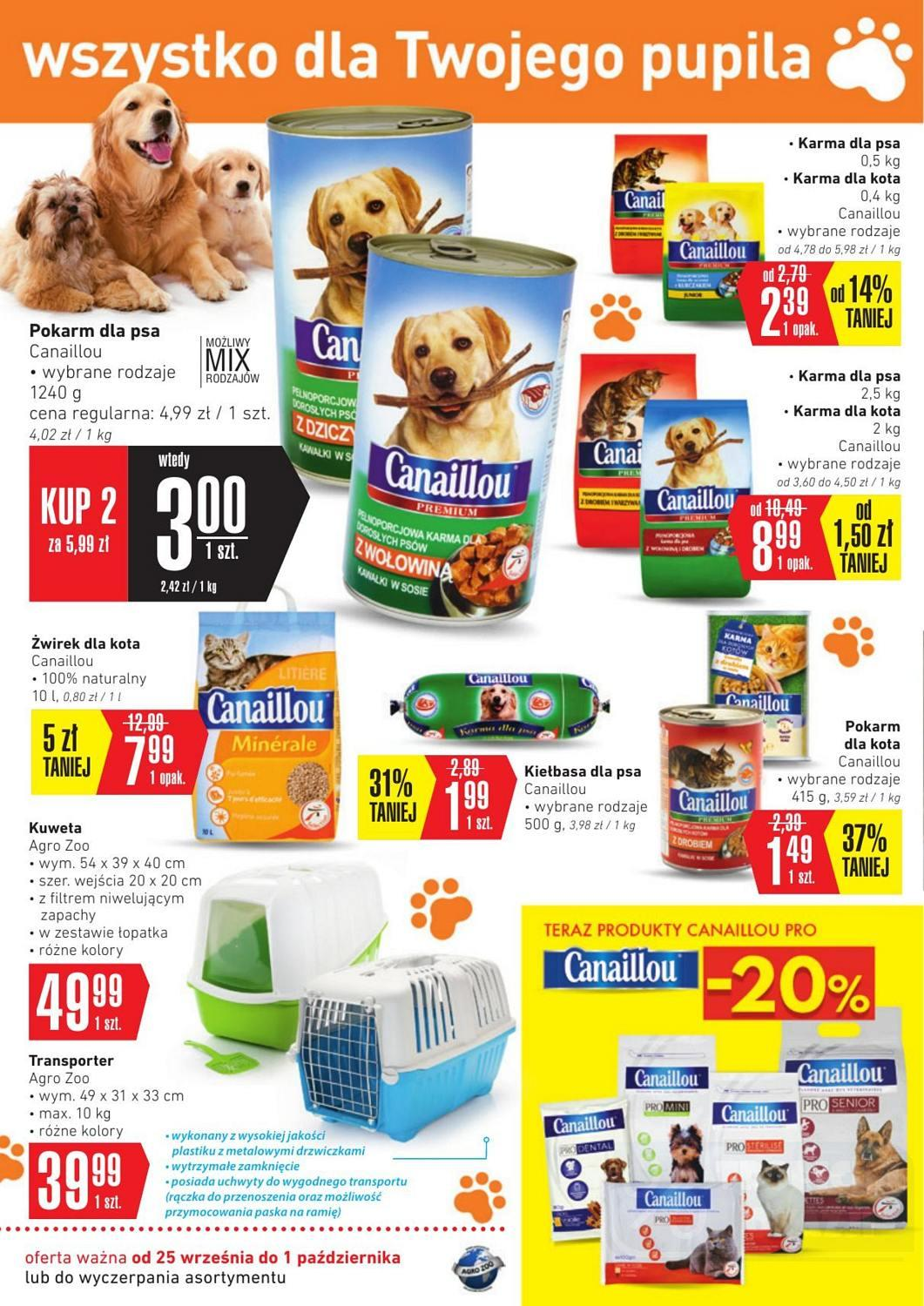 Gazetka promocyjna Intermarche do 01/10/2018 str.1