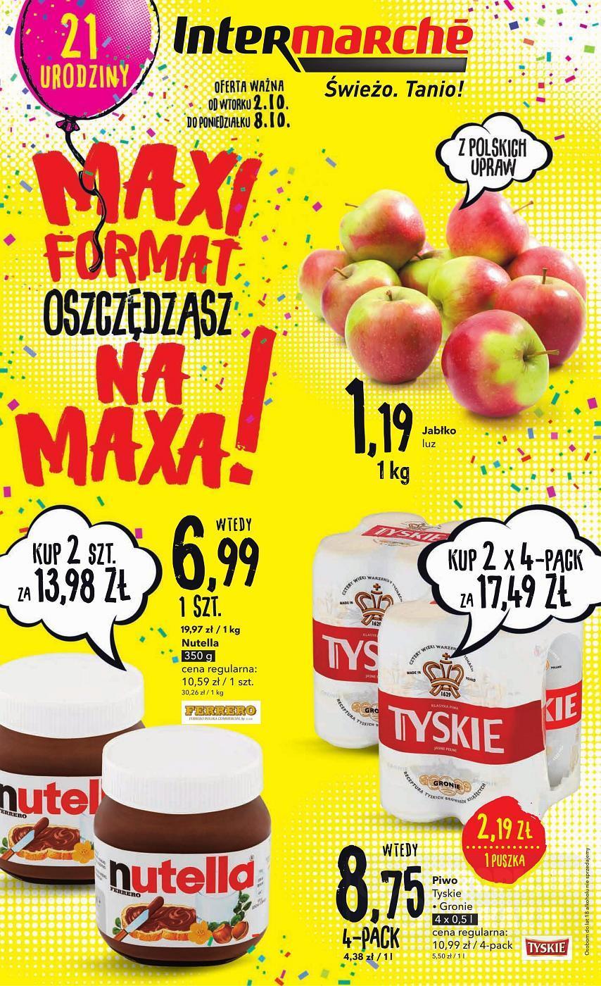 Gazetka promocyjna Intermarche do 08/10/2018 str.1