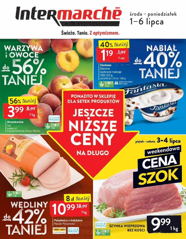 Gazetka promocyjna Intermarche do 06/07/2020 str.1