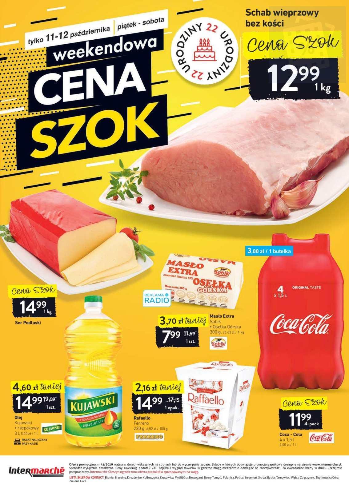 Gazetka promocyjna Intermarche do 14/10/2019 str.28