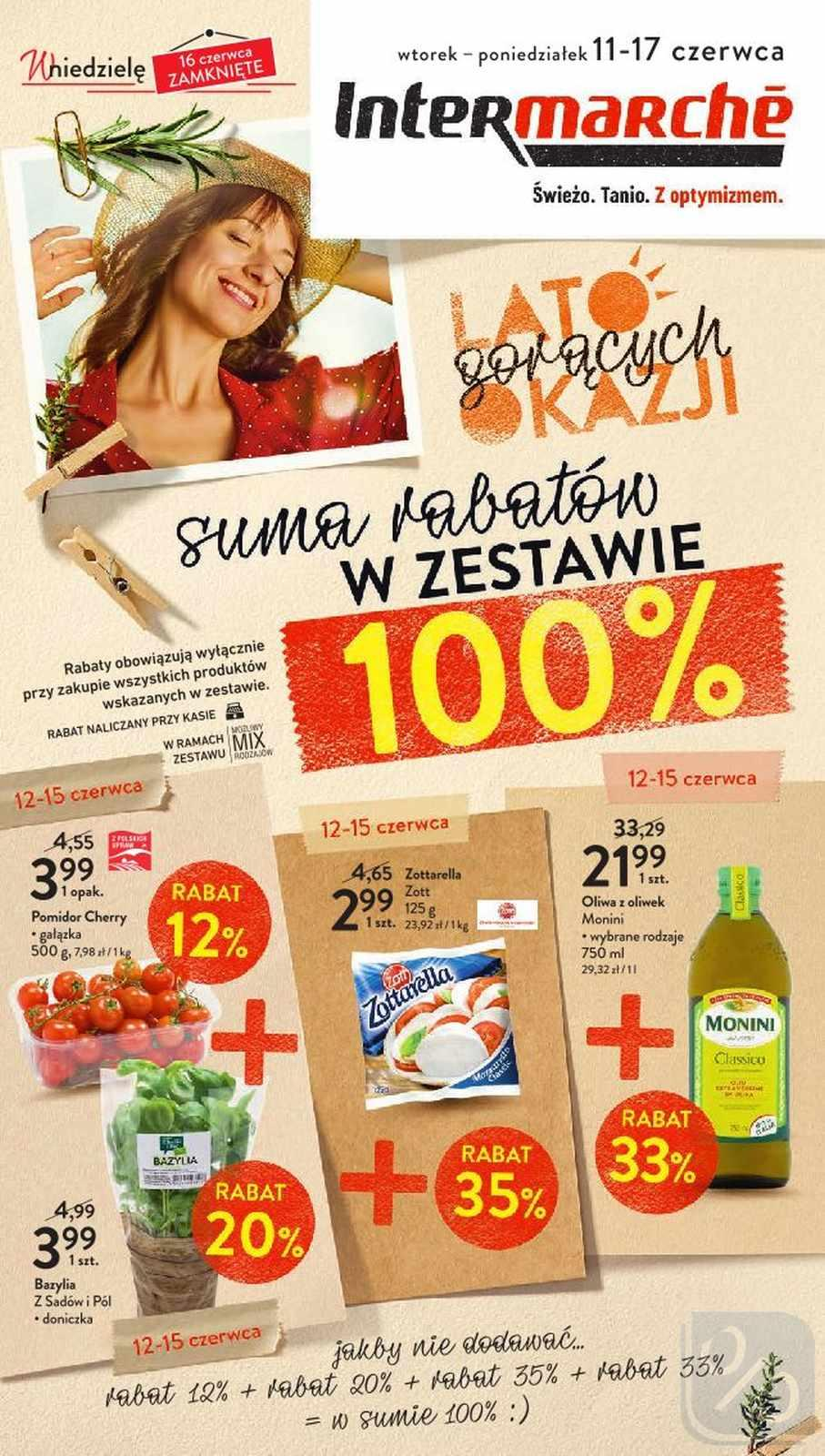Gazetka promocyjna Intermarche do 17/06/2019 str.0