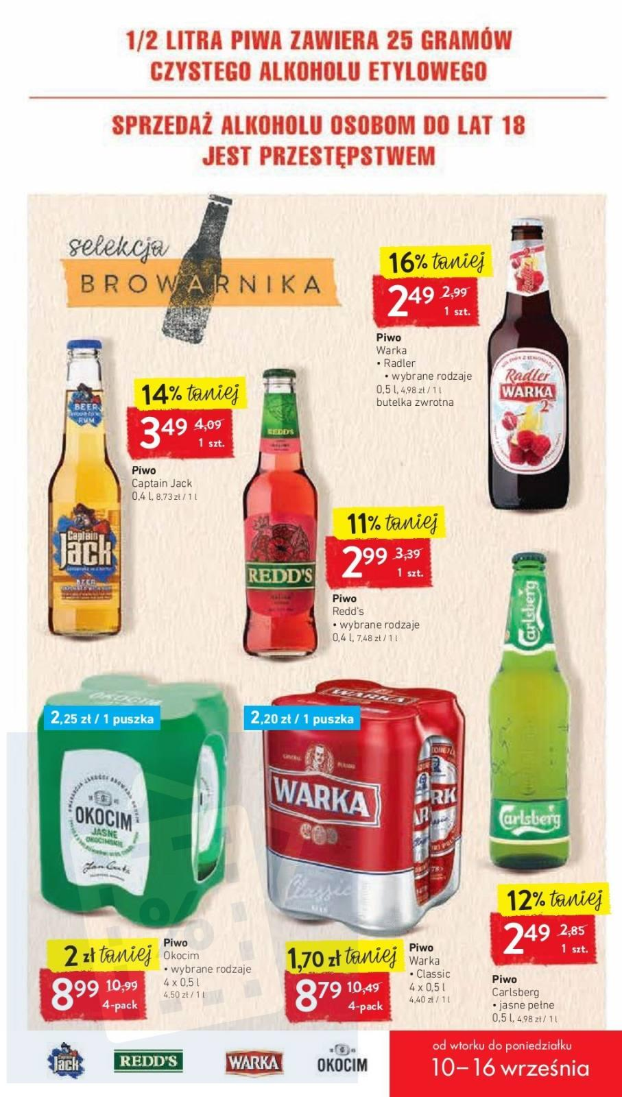 Gazetka promocyjna Intermarche do 16/09/2019 str.16