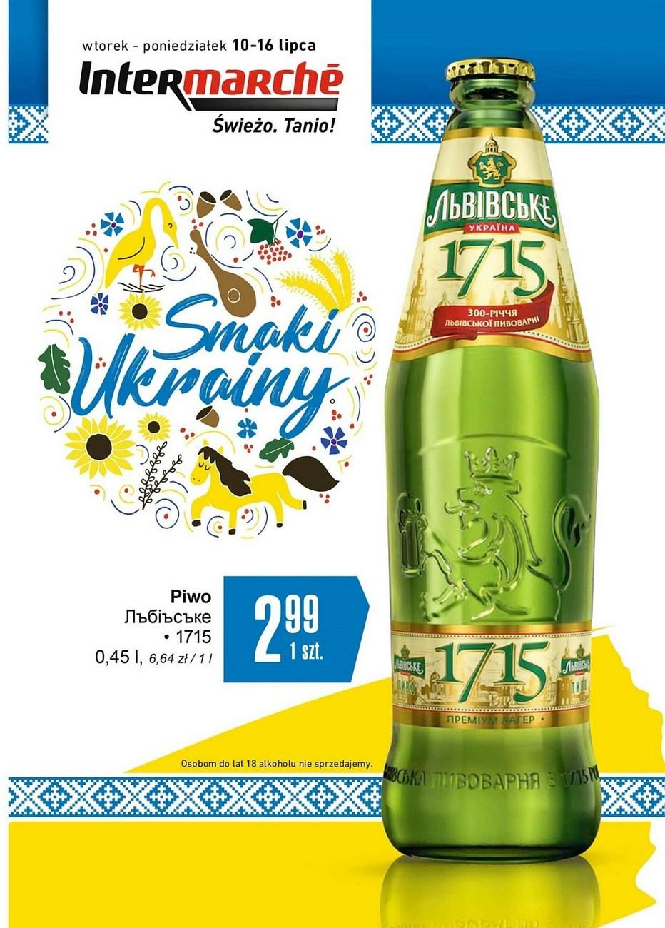 Gazetka promocyjna Intermarche do 16/07/2018 str.1
