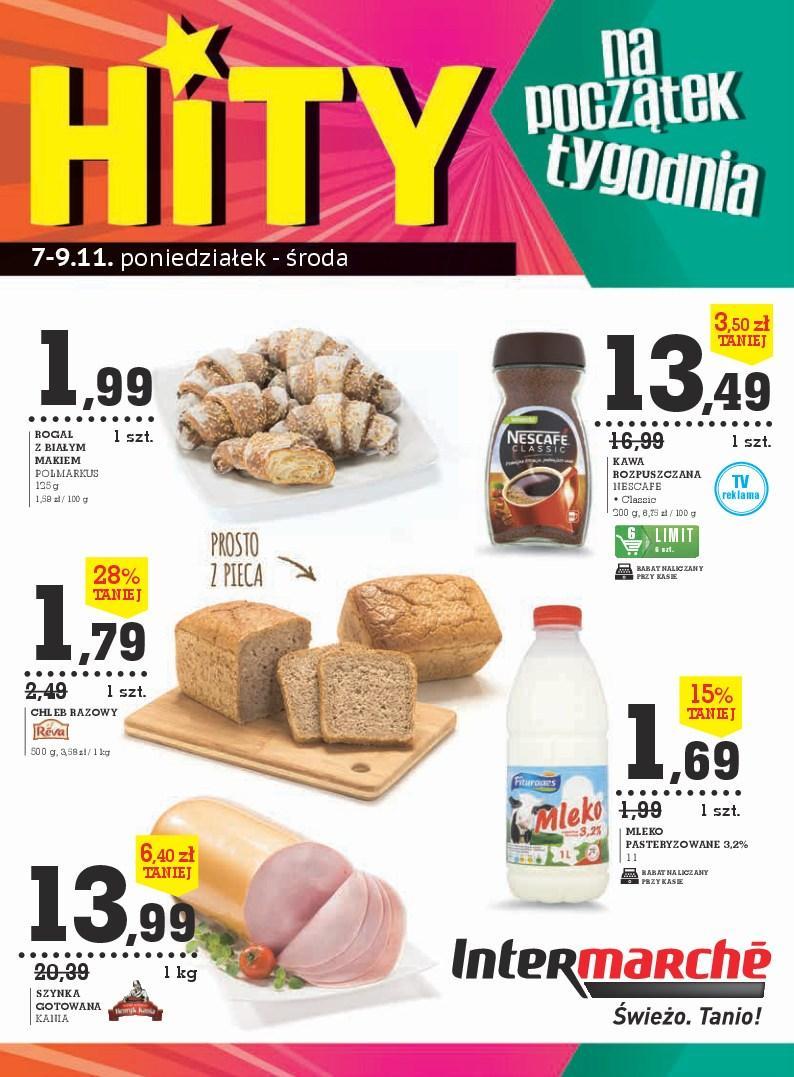 Gazetka promocyjna Intermarche do 09/11/2016 str.0