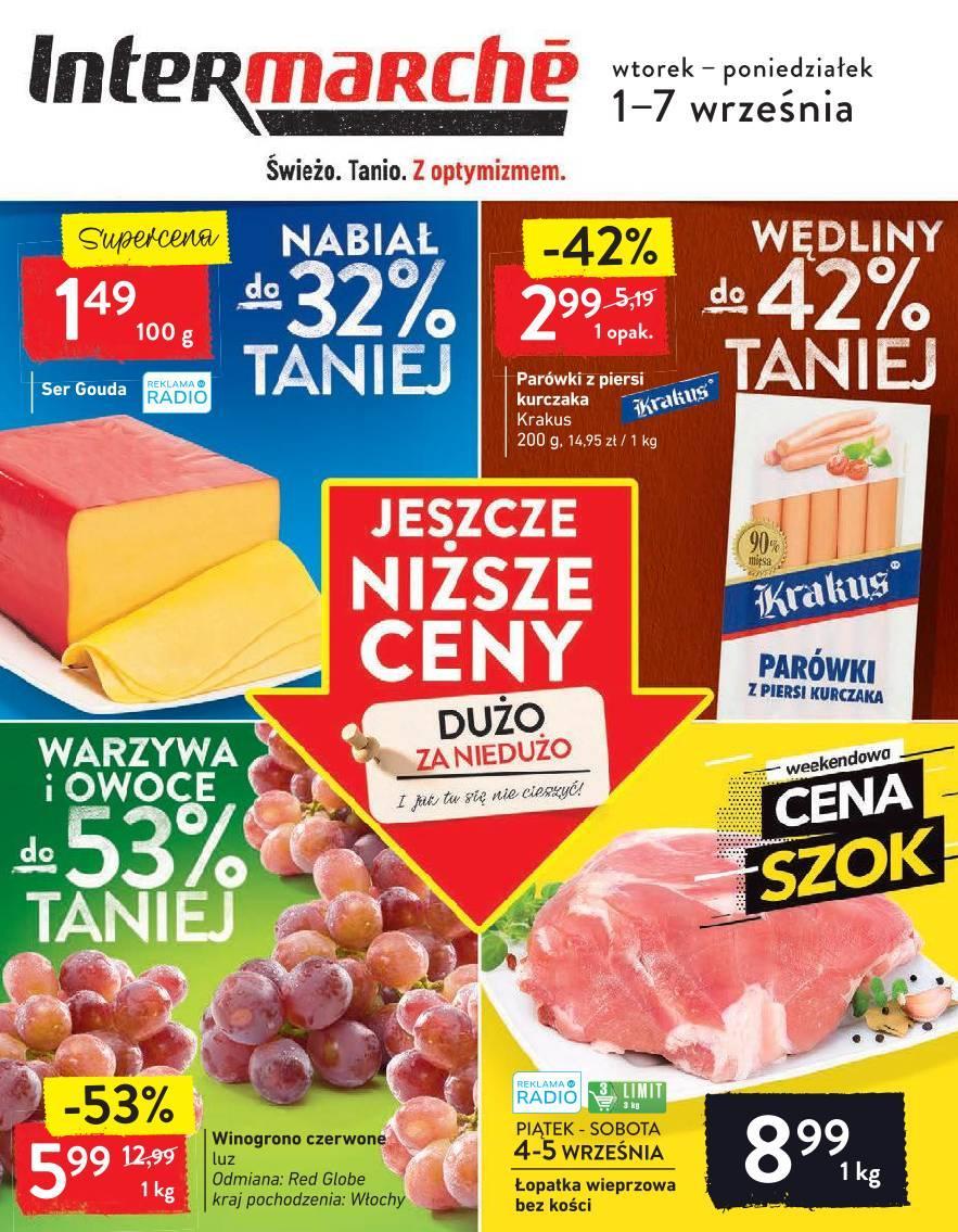 Gazetka promocyjna Intermarche do 07/09/2020 str.1