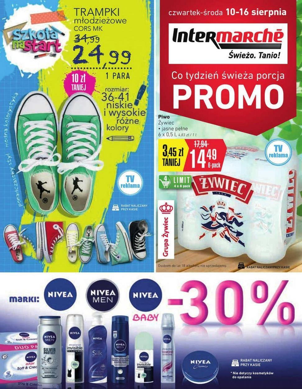 Gazetka promocyjna Intermarche do 16/08/2017 str.0