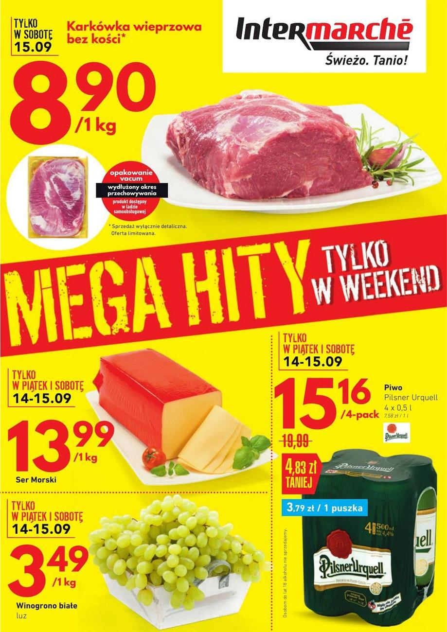 Gazetka promocyjna Intermarche do 17/09/2018 str.0