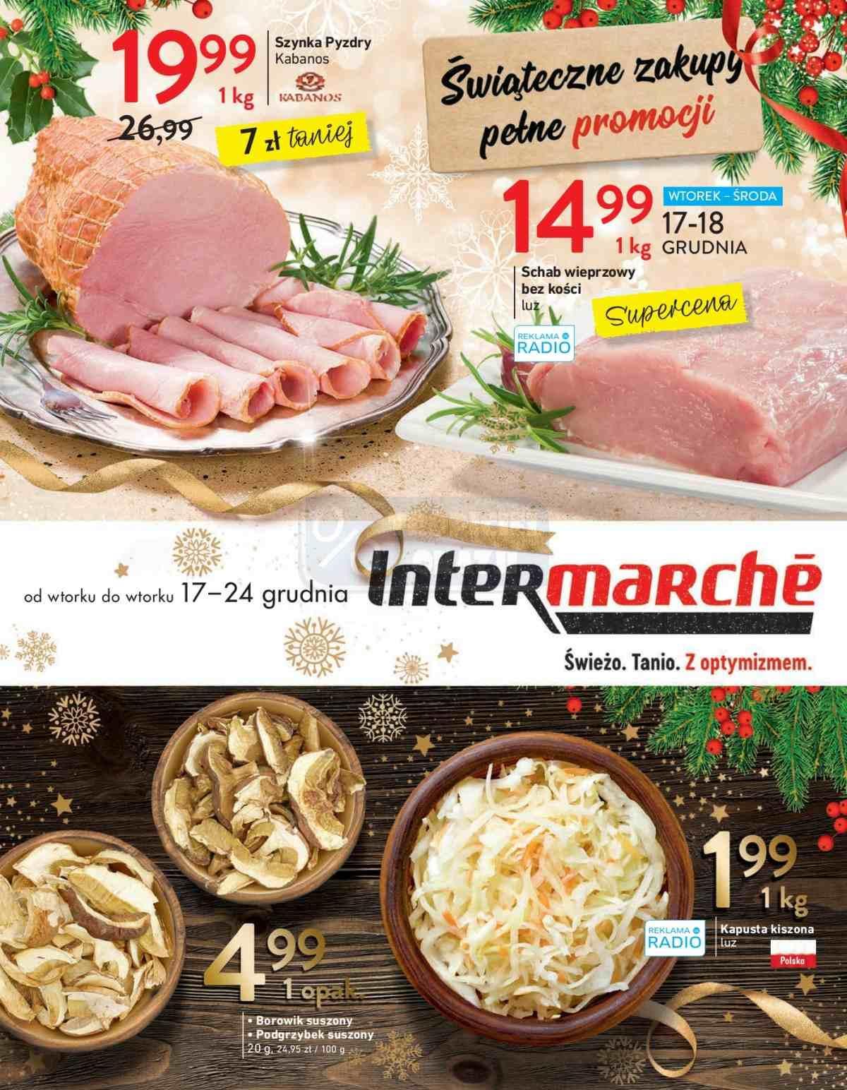 Gazetka promocyjna Intermarche do 24/12/2019 str.1