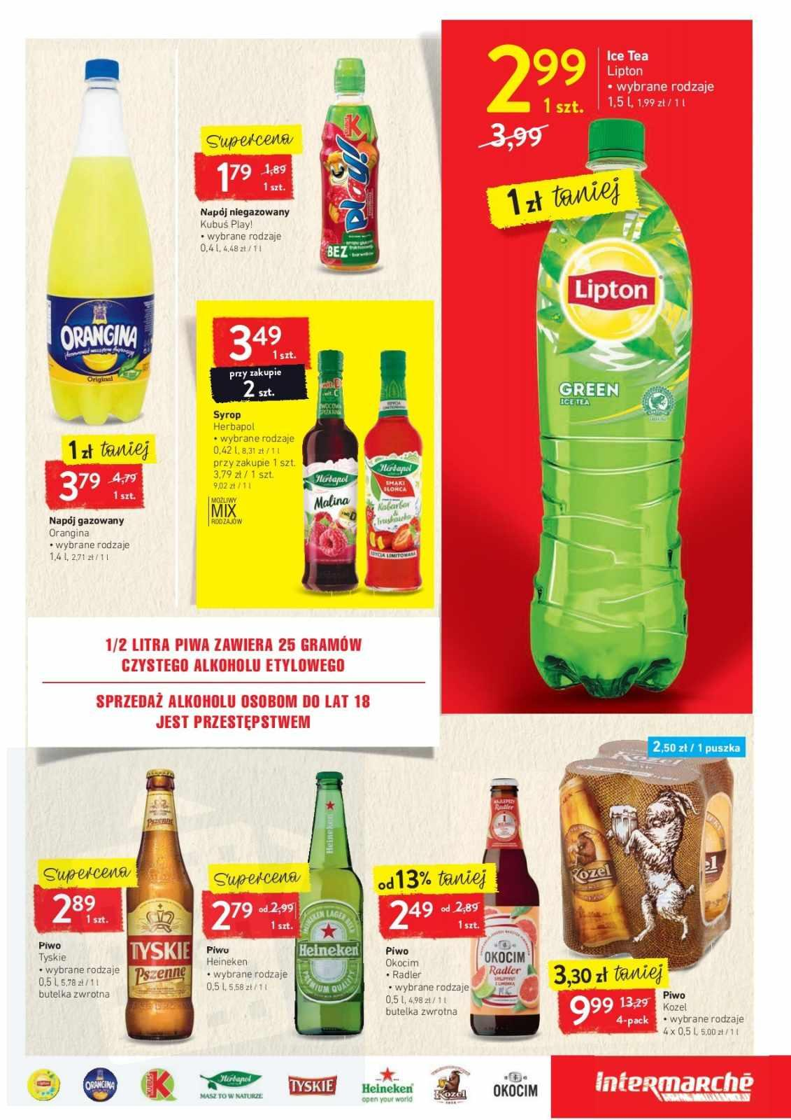Gazetka promocyjna Intermarche do 26/08/2019 str.16