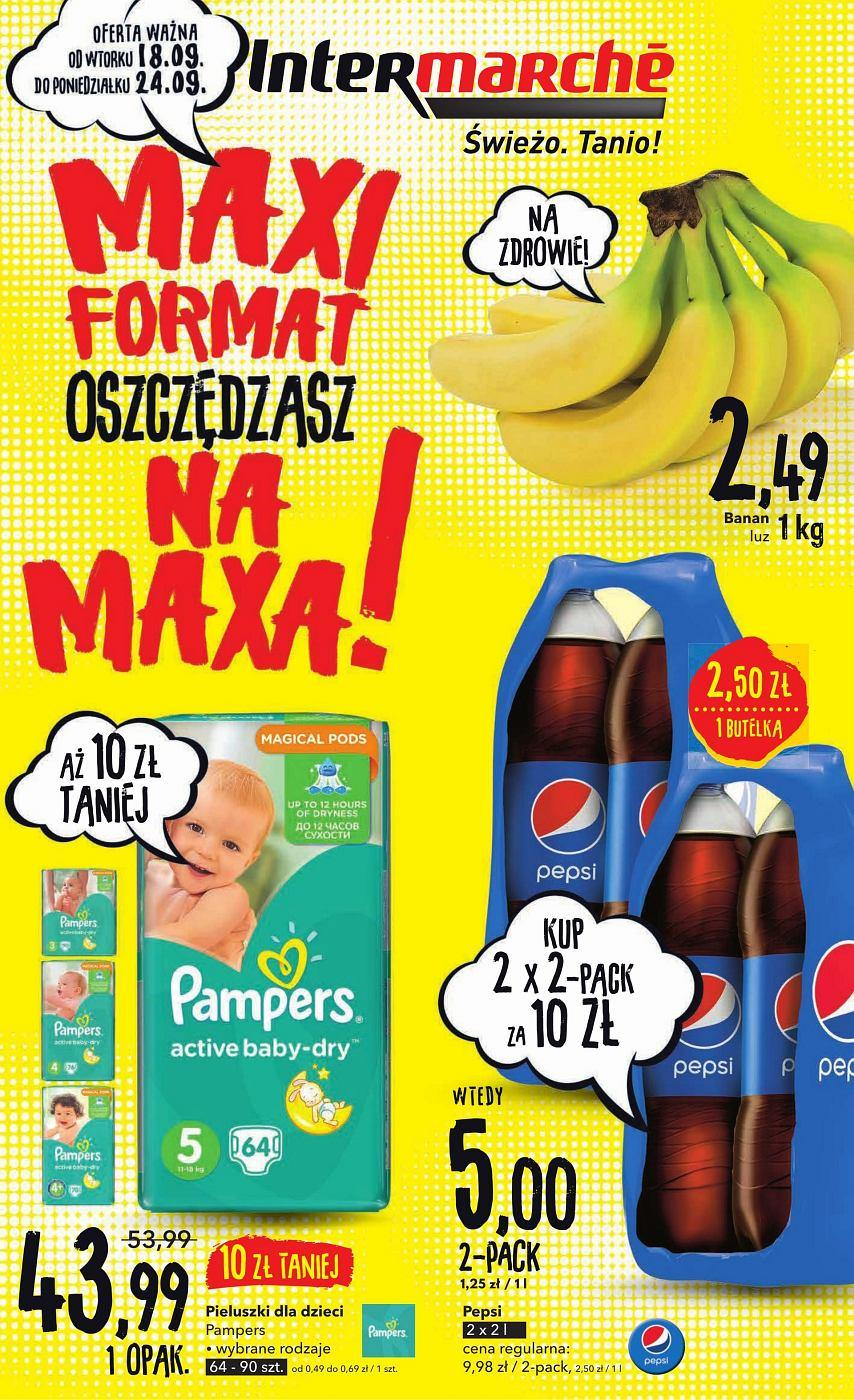 Gazetka promocyjna Intermarche do 24/09/2018 str.1