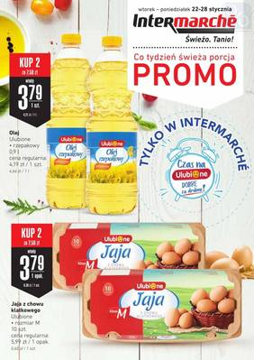 Intermarche gazetka - od 22/01/2019 do 28/01/2019