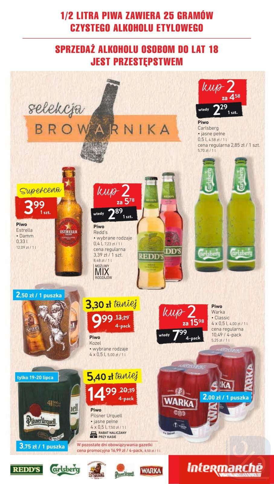 Gazetka promocyjna Intermarche do 22/07/2019 str.18
