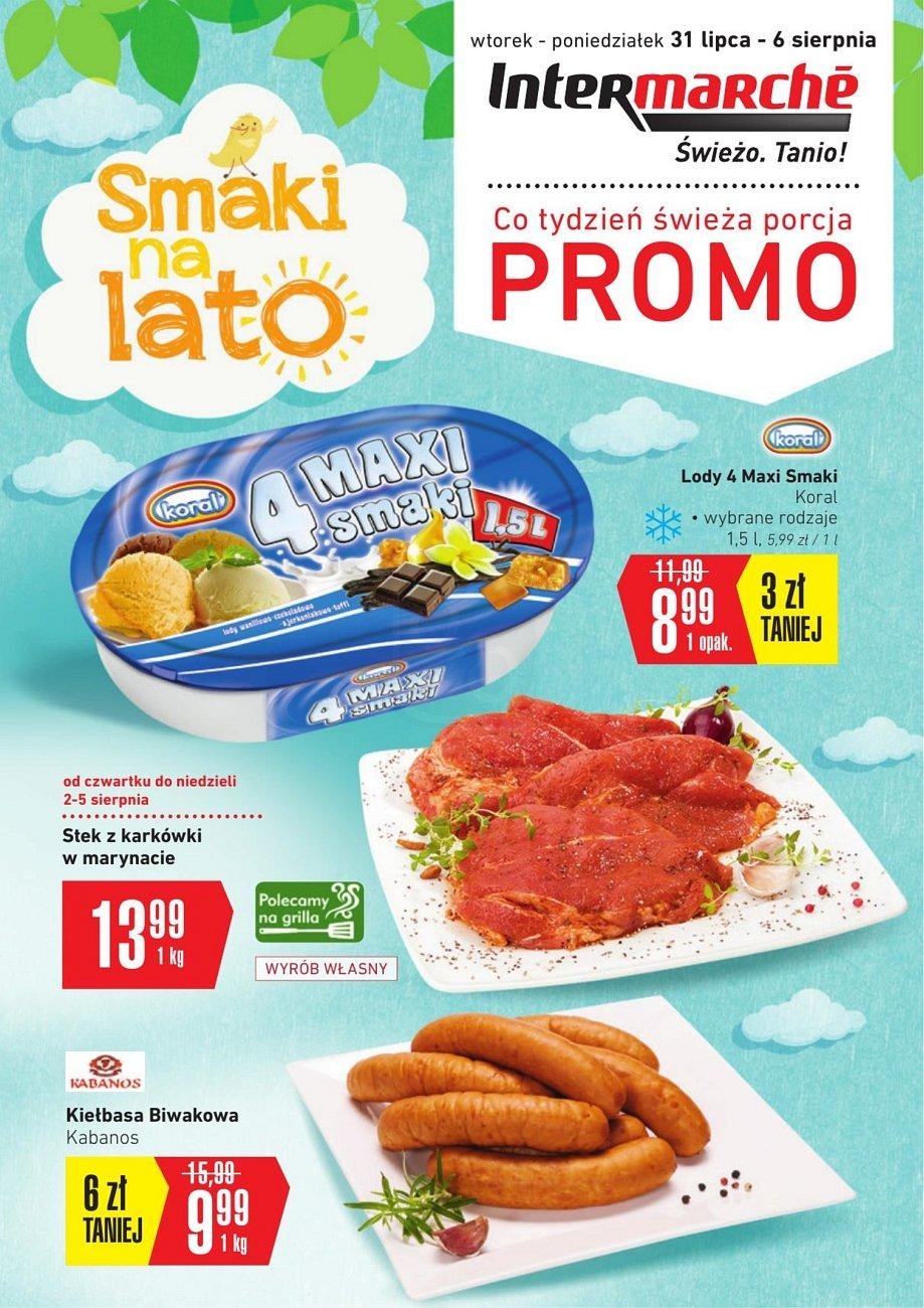 Gazetka promocyjna Intermarche do 06/08/2018 str.1
