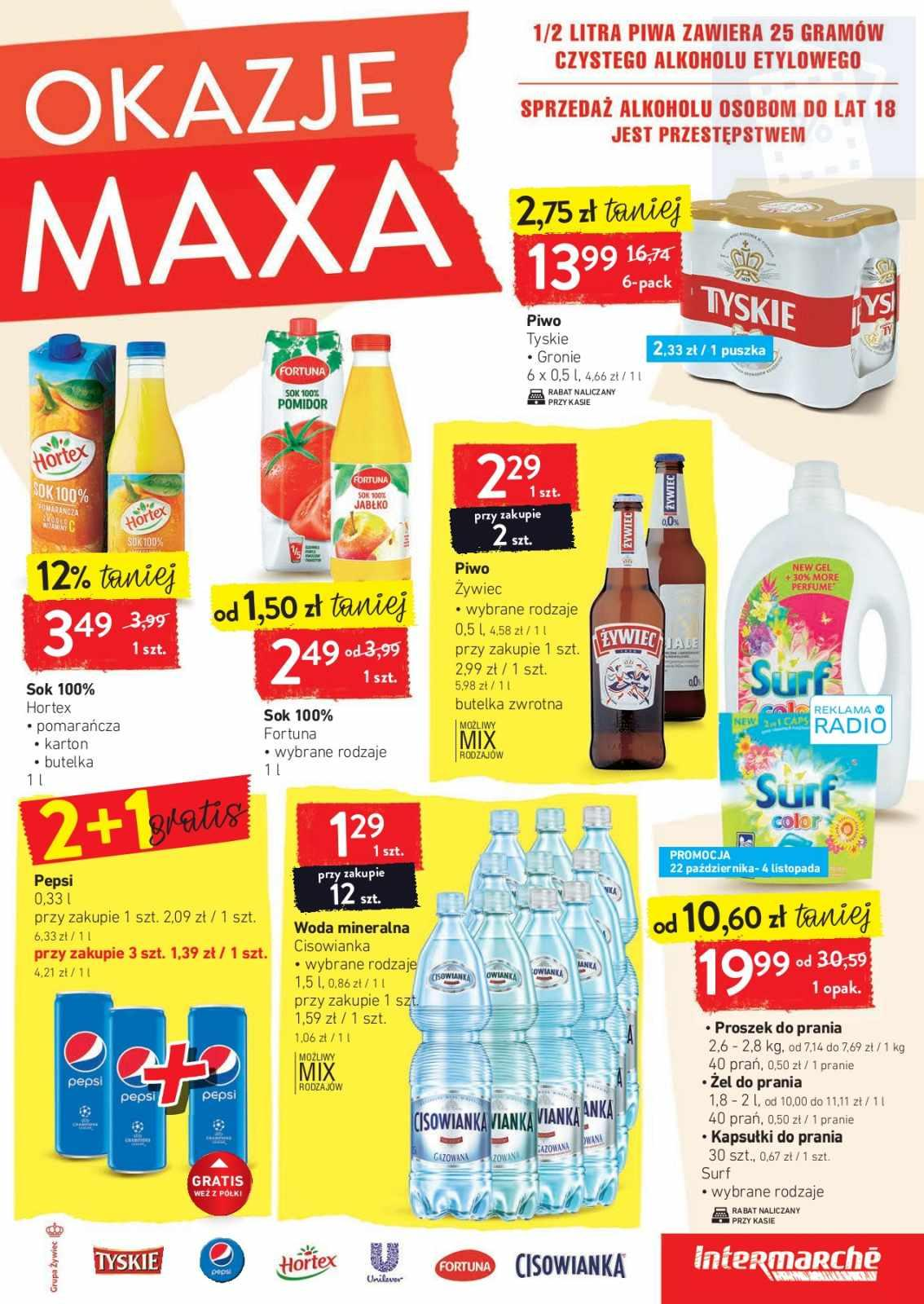 Gazetka promocyjna Intermarche do 28/10/2019 str.4