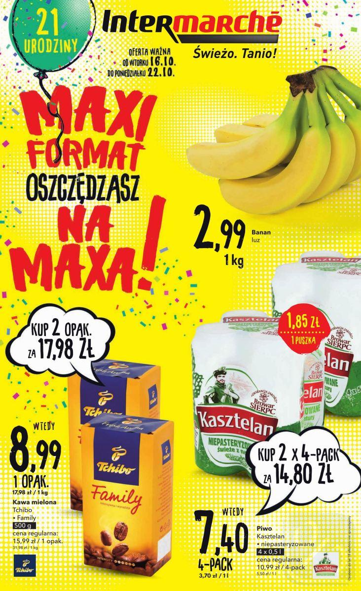 Gazetka promocyjna Intermarche do 22/10/2018 str.1