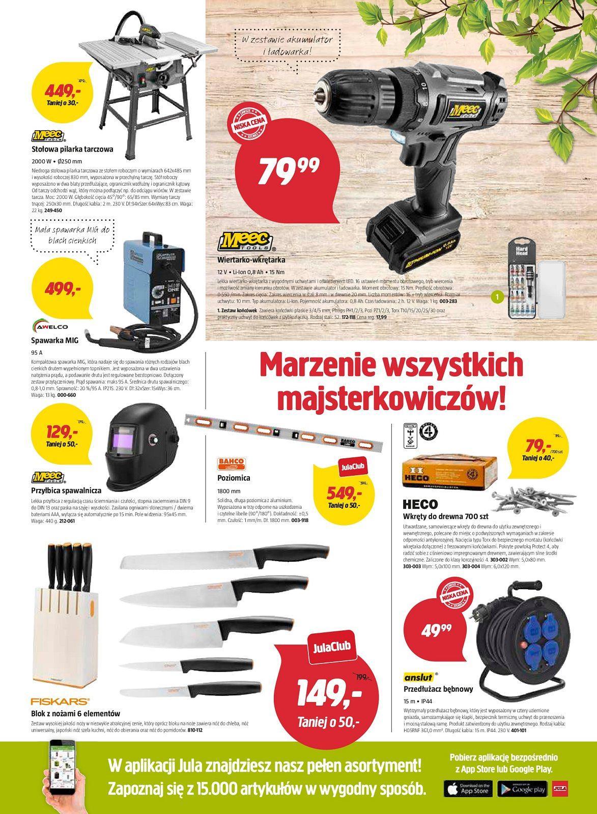 Gazetka promocyjna Jula do 22/04/2018 str.4