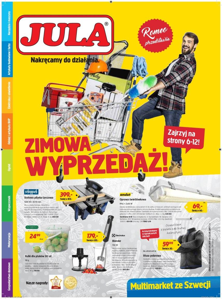Gazetka promocyjna Jula do 22/01/2017 str.0