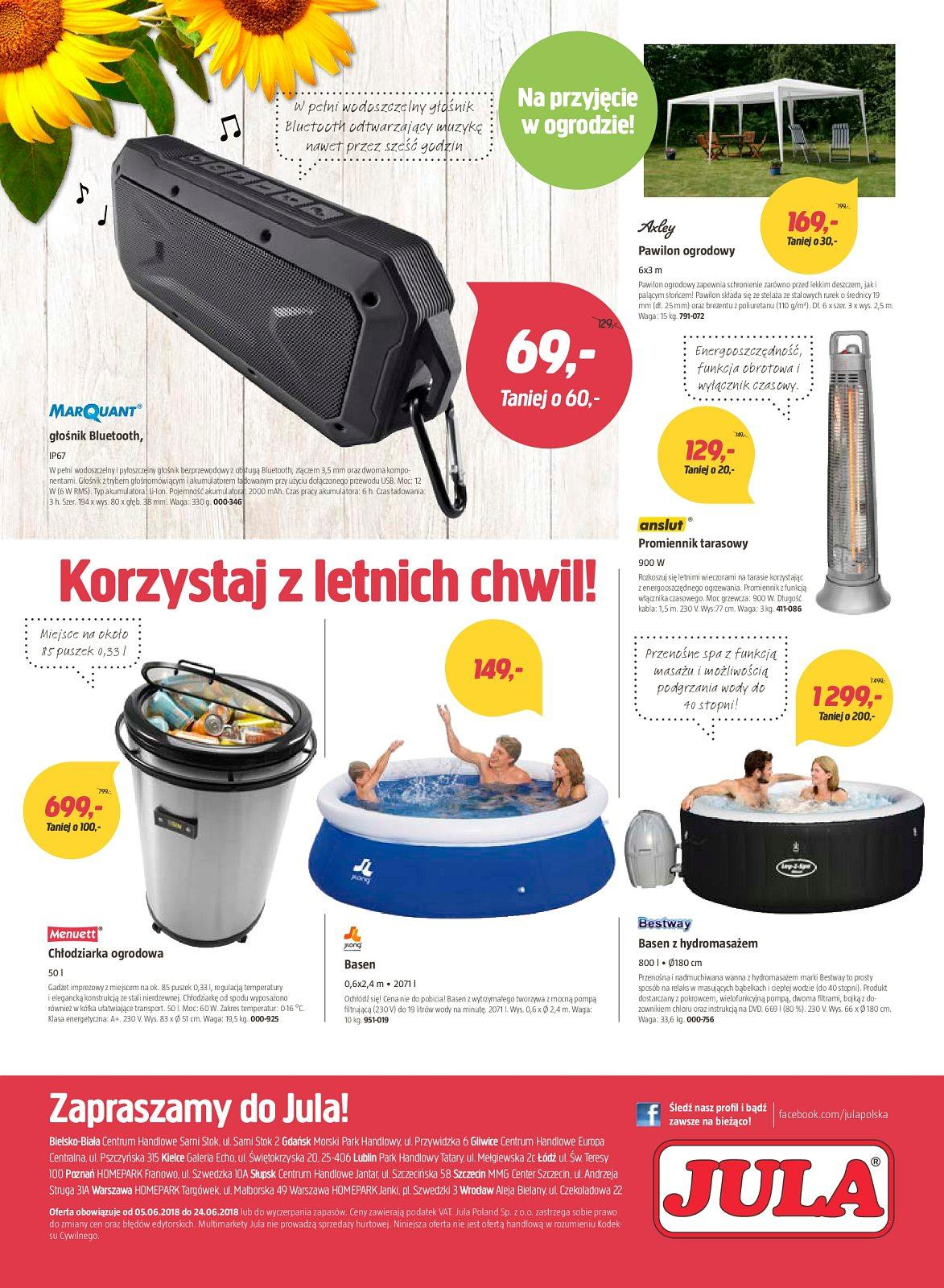 Gazetka promocyjna Jula do 24/06/2018 str.7