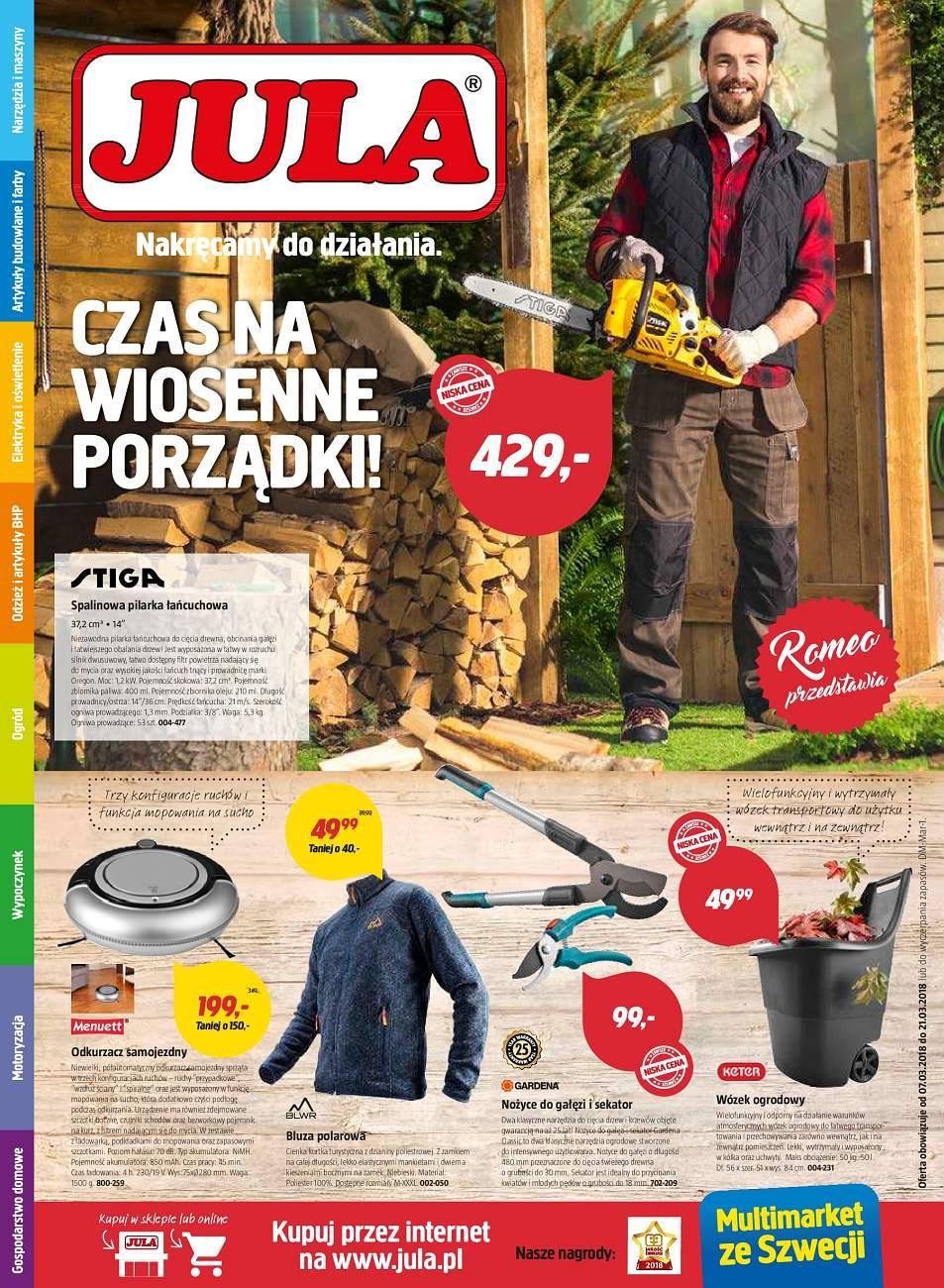 Gazetka promocyjna Jula do 21/03/2018 str.0