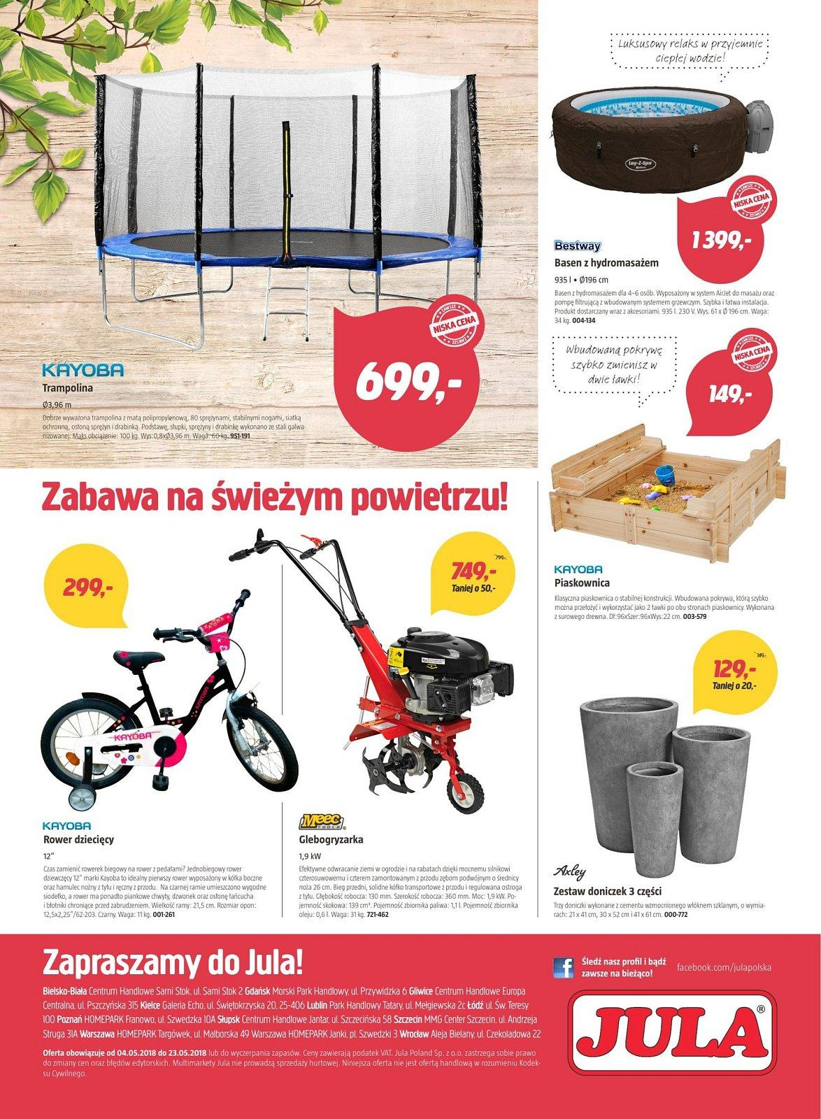 Gazetka promocyjna Jula do 23/05/2018 str.7