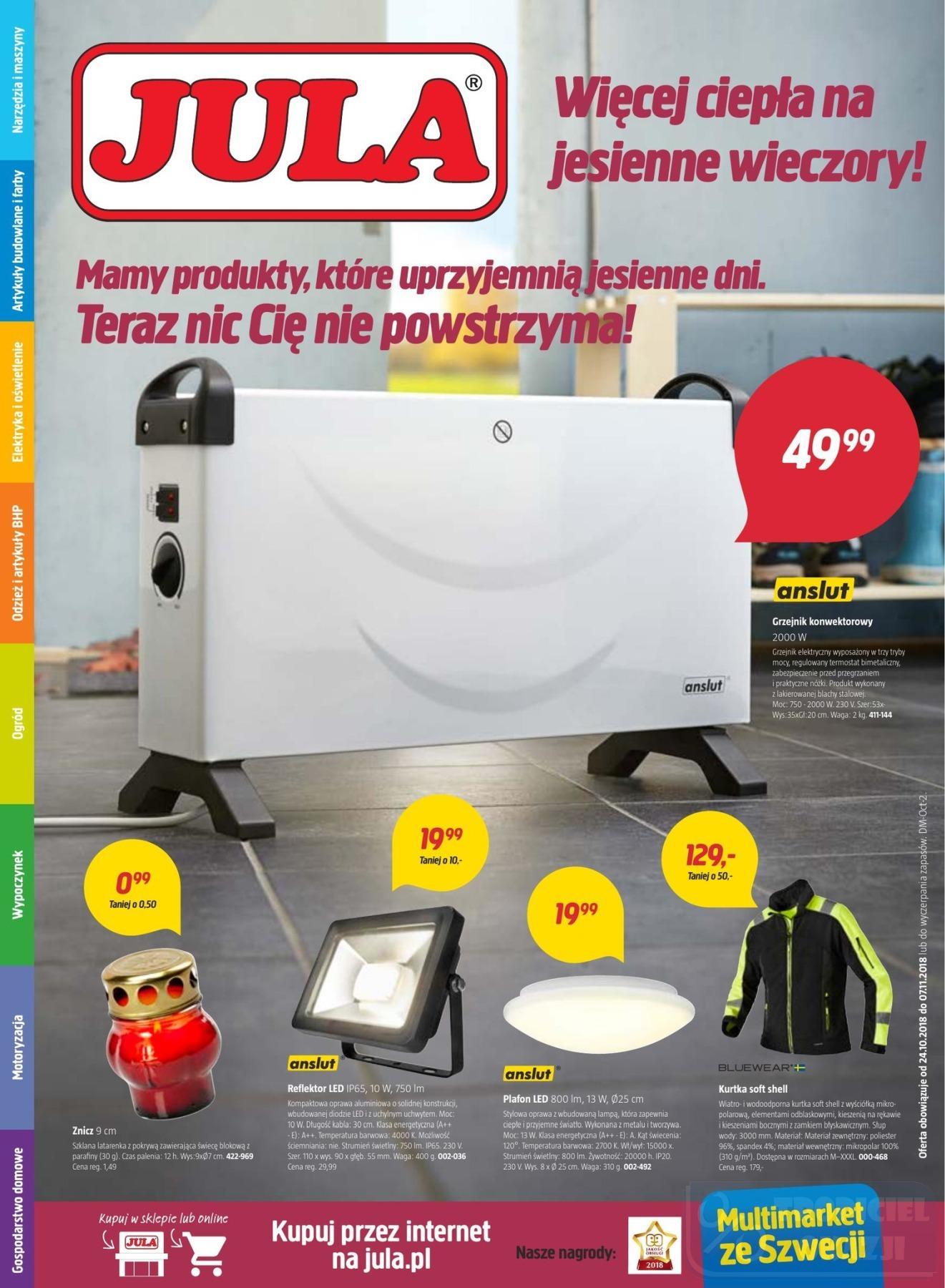 Gazetka promocyjna Jula do 07/11/2018 str.0