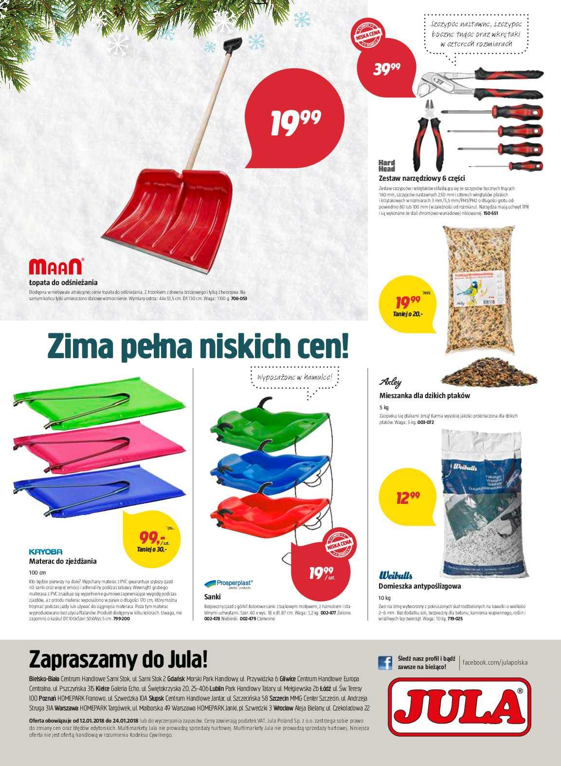 Gazetka promocyjna Jula do 24/01/2018 str.7
