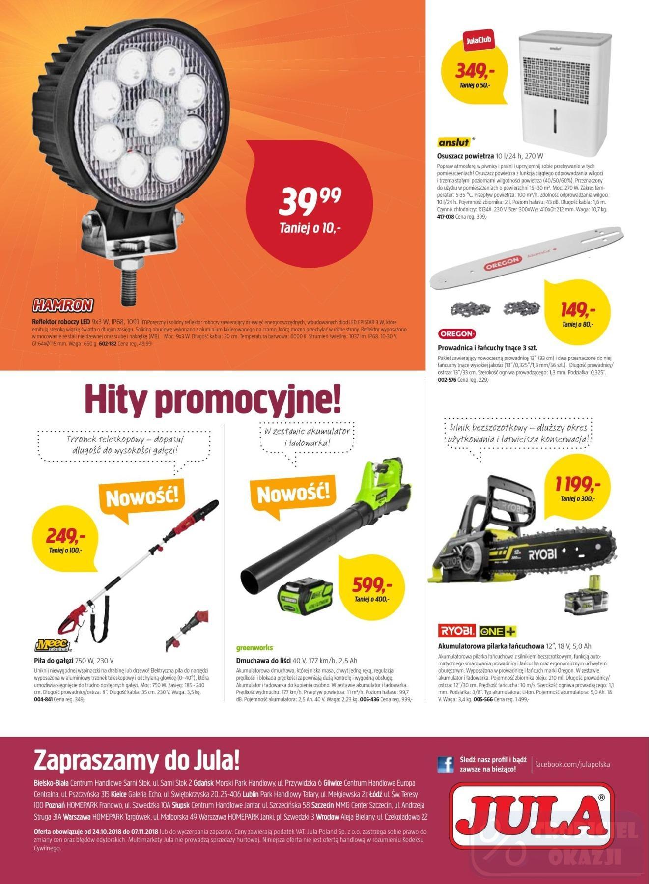 Gazetka promocyjna Jula do 07/11/2018 str.8