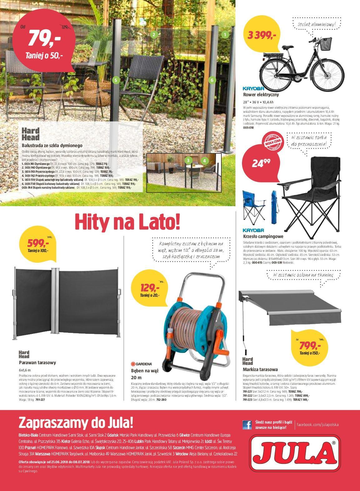 Gazetka promocyjna Jula do 08/07/2018 str.7