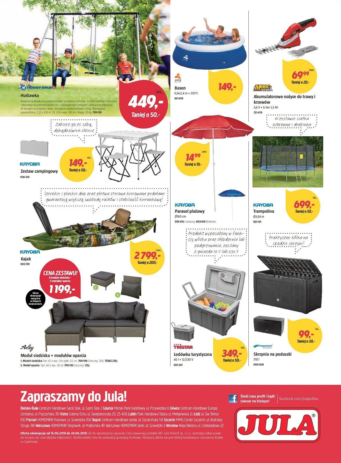 Gazetka promocyjna Jula do 24/06/2018 str.3