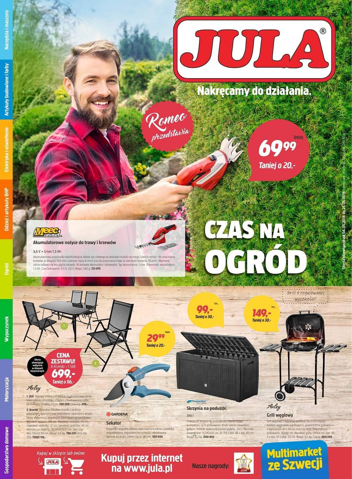 Gazetka promocyjna Jula do 23/05/2018 str.0