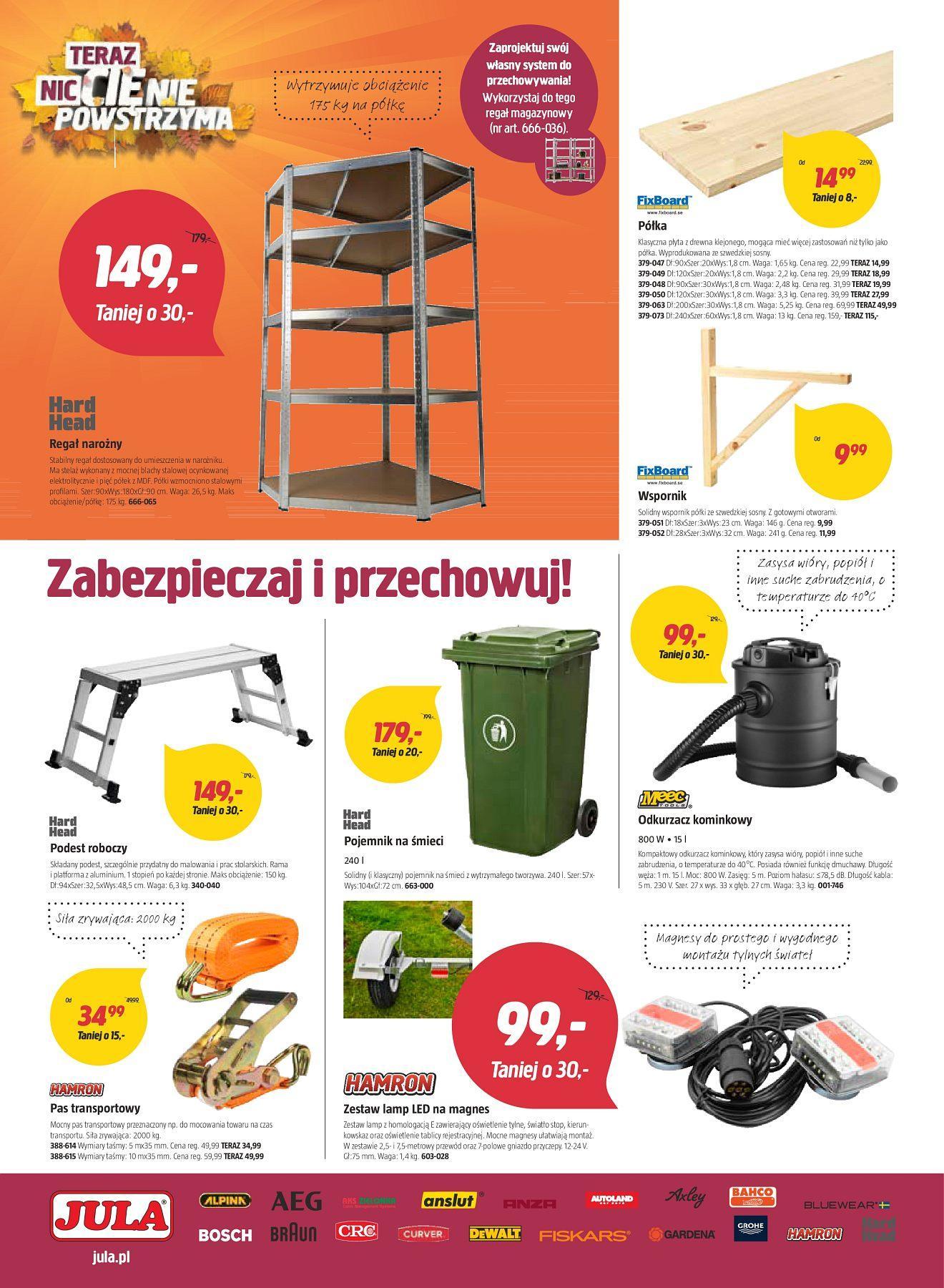 Gazetka promocyjna Jula do 23/09/2018 str.9
