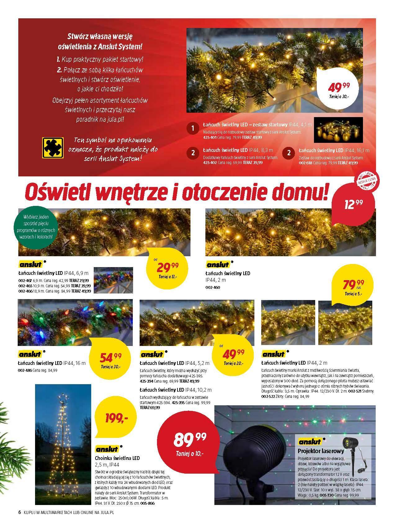 Gazetka promocyjna Jula do 02/01/2019 str.6