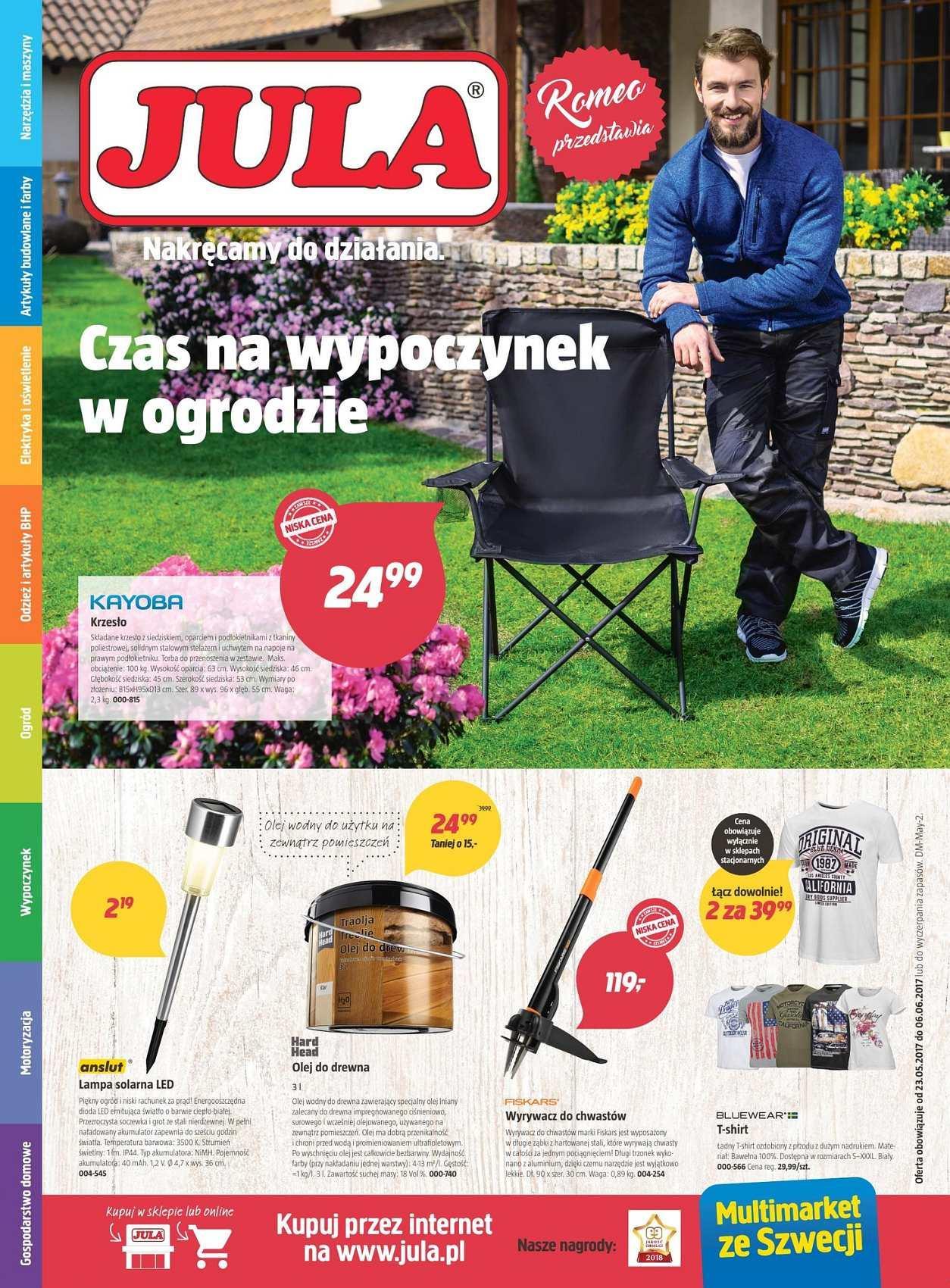 Gazetka promocyjna Jula do 06/06/2018 str.0