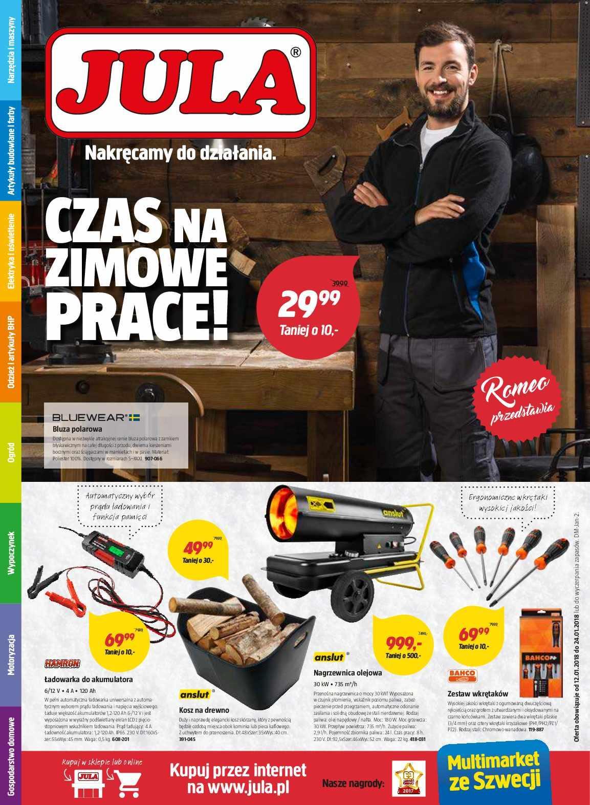 Gazetka promocyjna Jula do 24/01/2018 str.0