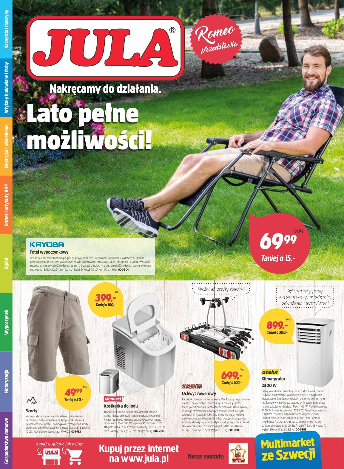 Gazetka promocyjna Jula do 08/07/2018 str.1