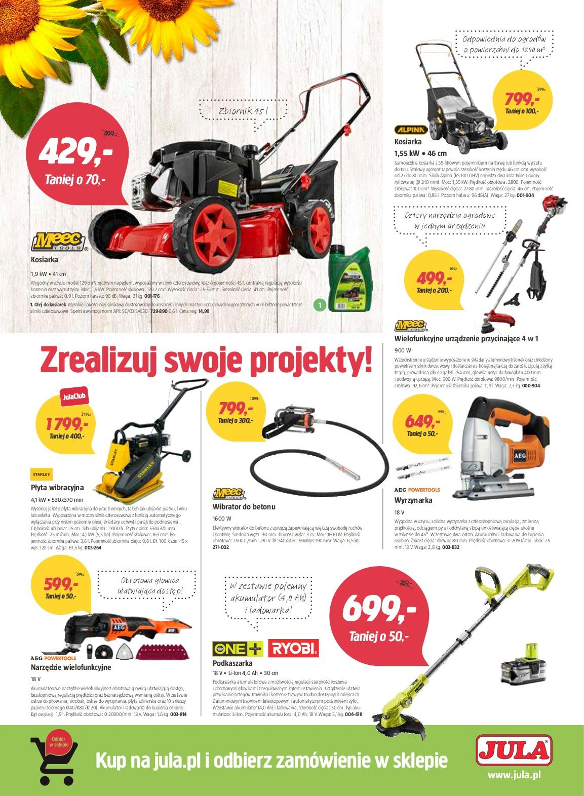 Gazetka promocyjna Jula do 08/07/2018 str.3