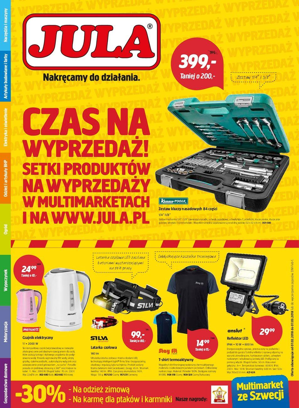 Gazetka promocyjna Jula do 07/03/2018 str.0