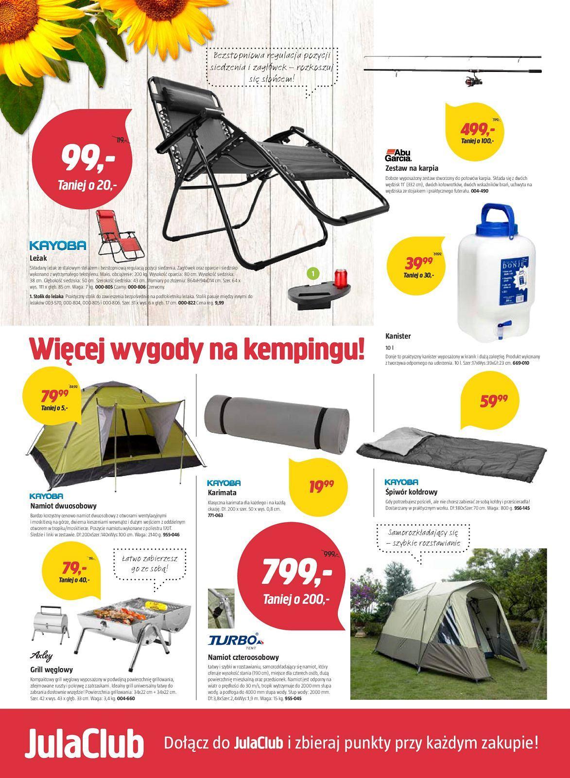 Gazetka promocyjna Jula do 22/07/2018 str.1
