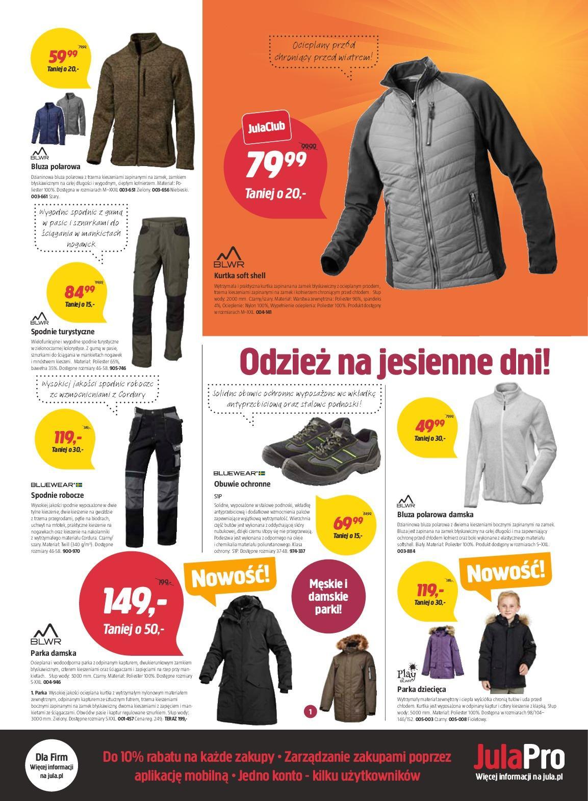 Gazetka promocyjna Jula do 24/10/2018 str.2