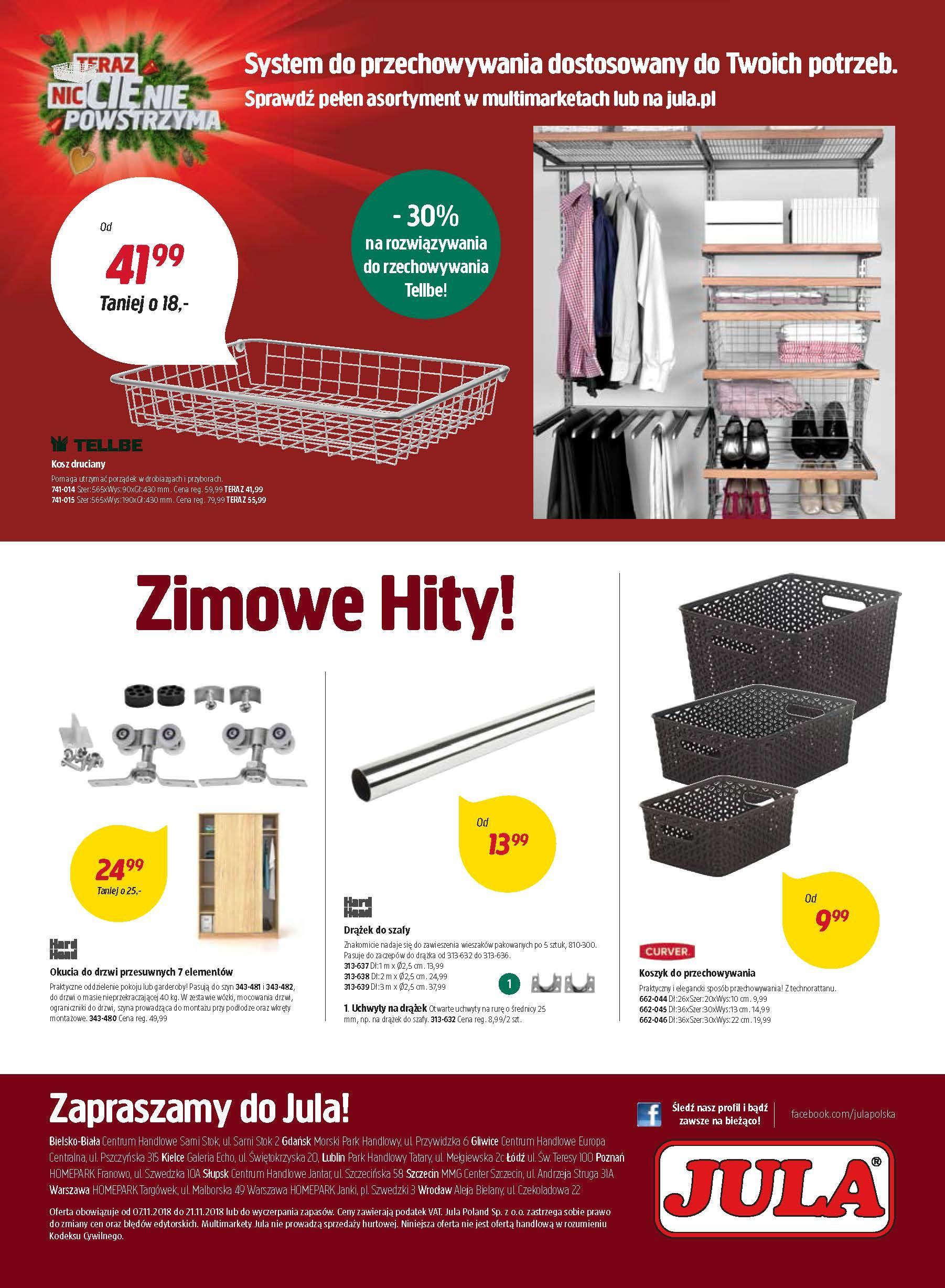 Gazetka promocyjna Jula do 21/11/2018 str.12